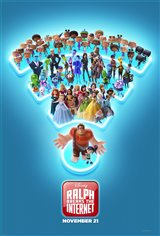 RALPH BREAKS THE INTERNET (STARTS WED. NOV. 21)