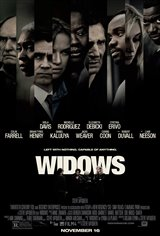 WIDOWS poster missing