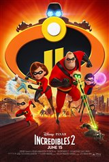 INCREDIBLES 2 poster missing