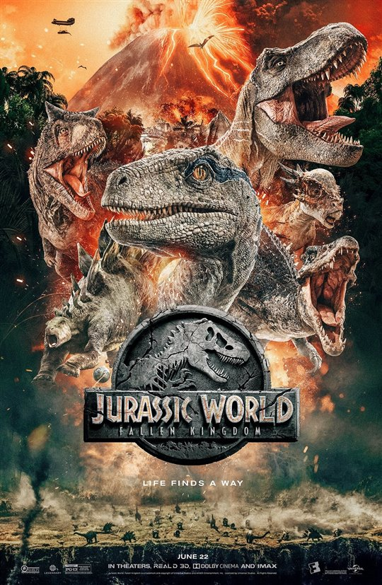 JURASSIC WORLD:FALLEN KINGDOM 3D poster missing