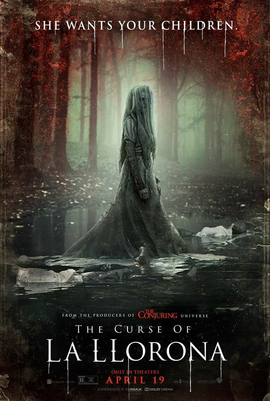 THE CURSE OF LA LLORONA  poster missing