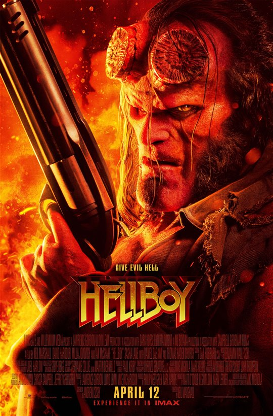 HELLBOY 2 poster missing