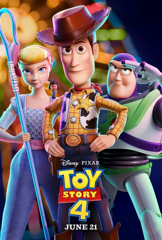 TOY STORY 4 3D poster missing