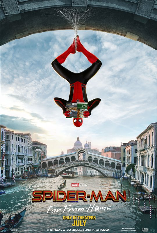 SPIDERMAN FAR FROM HOME 3D