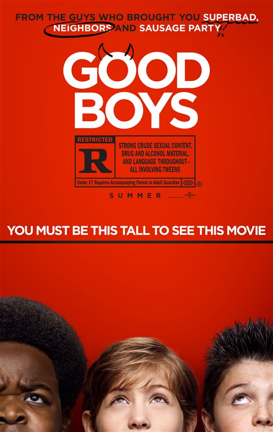 GOOD BOYS poster missing