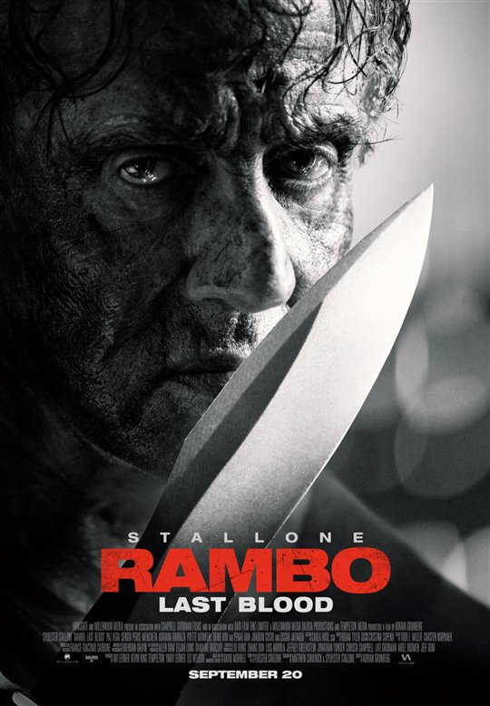 RAMBO: LAST BLOOD poster missing