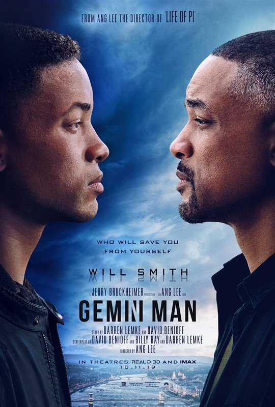 GEMINI MAN poster missing