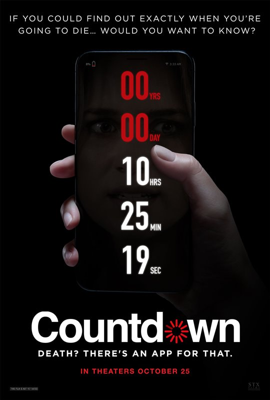 COUNTDOWN poster missing