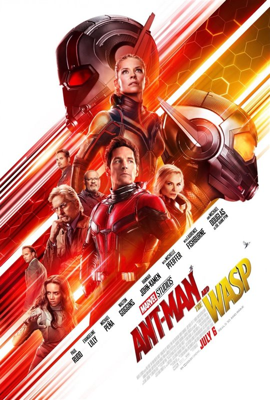 ANTMAN AND THE WASP 3D poster missing