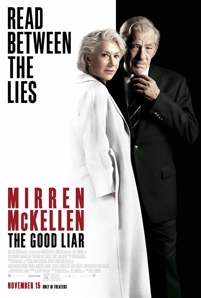 THE GOOD LIAR poster missing