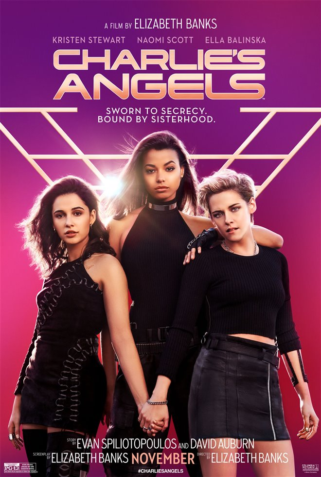 CHARLIE'S ANGELS poster missing