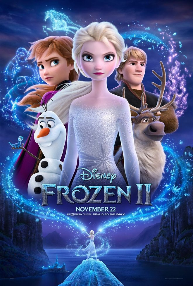 FROZEN 2 3D poster missing
