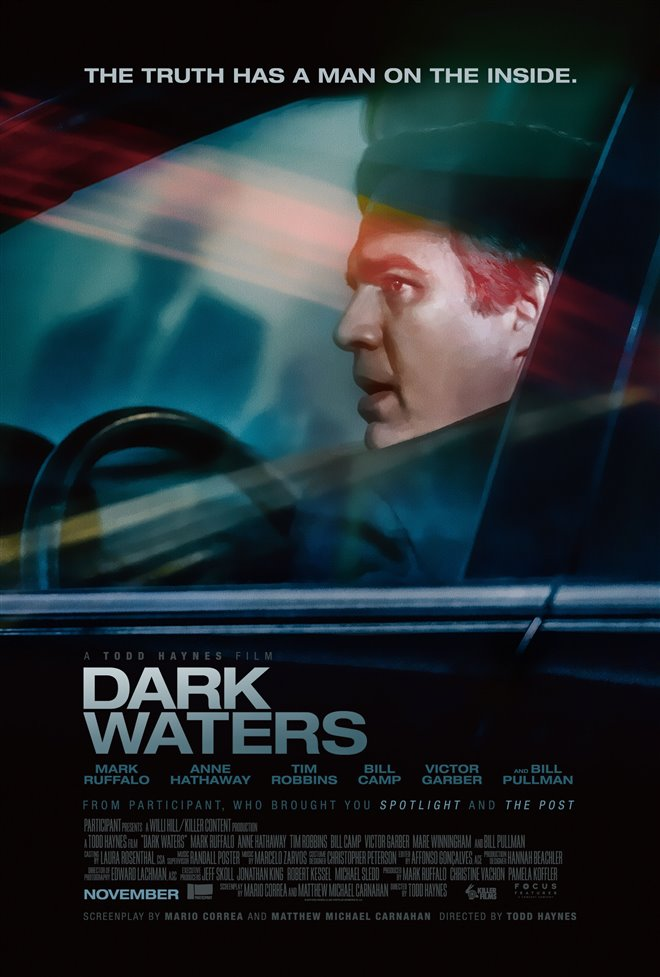 DARK WATERS (FRIDAY-WEDNESDAY) poster missing