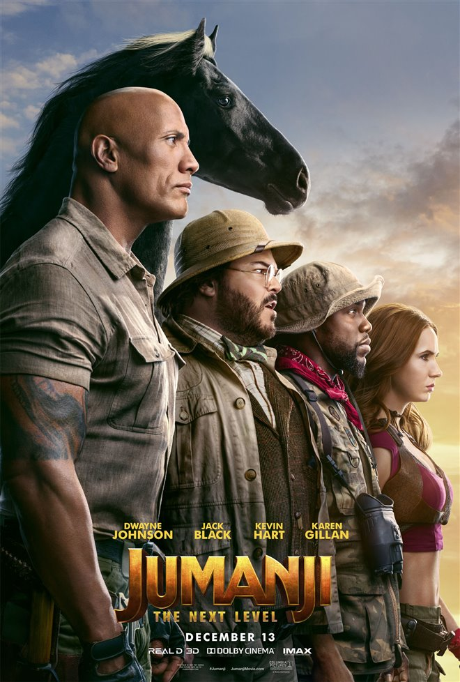 JUMANJI: THE NEXT LEVEL poster missing