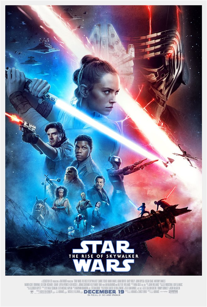 STAR WARS : THE RISE OF SKYWALKER (TICKETS ON SALE NOW!)