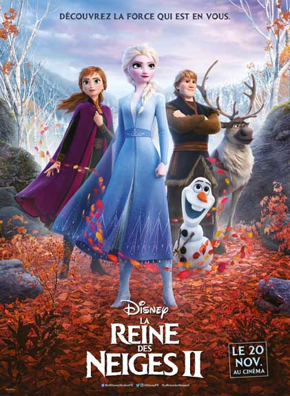LA REINE DES NEIGES 2 3D  poster missing