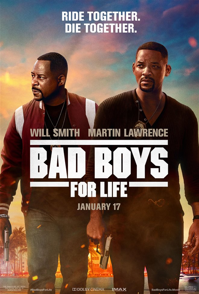 BAD BOYS FOR LIFE poster missing