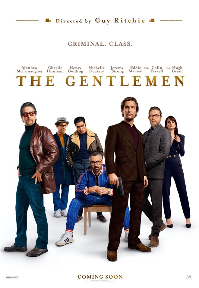 THE GENTLEMEN poster missing
