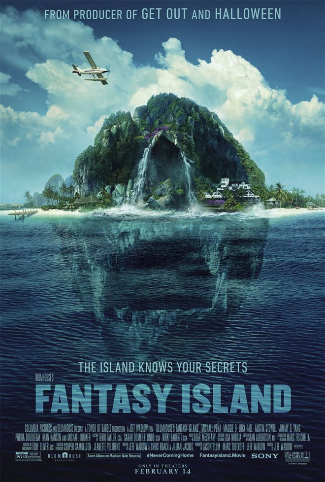 BLUMHOUSE'S FANTASY ISLAND  poster missing