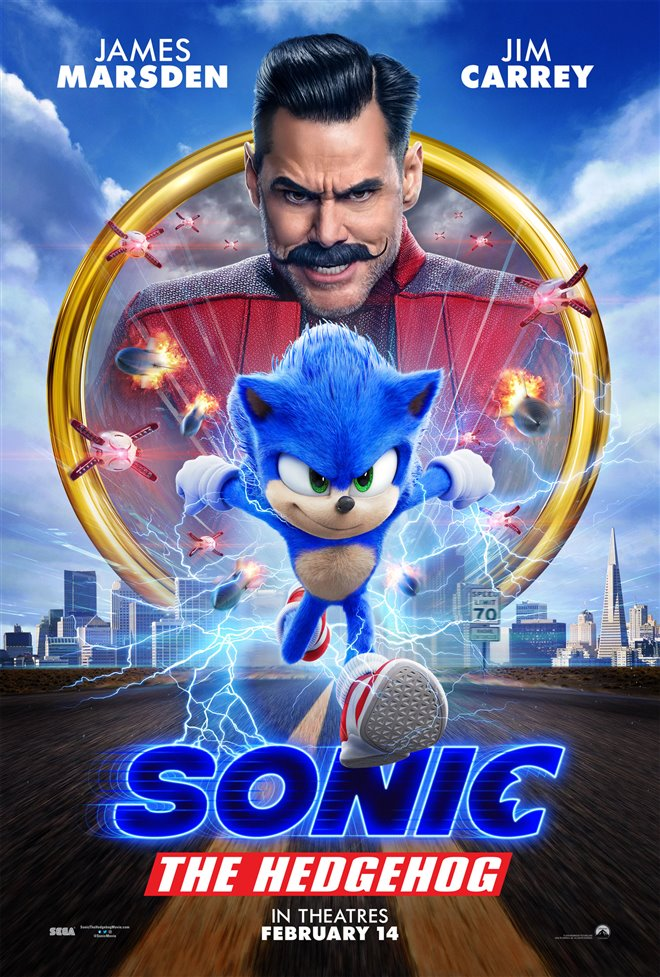 SONIC THE HEDGEHOG poster missing