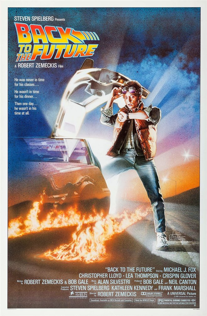 BACK TO THE FUTURE (SUNDAY JULY 5) poster missing