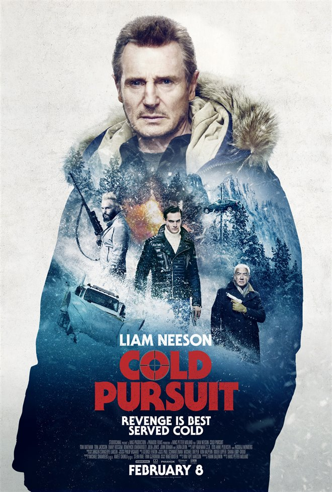 COLD PURSUIT (TUESDAY AUGUST 11 - DRIVE IN) poster missing