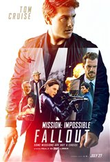 MISSION IMPOSSIBLE: FALLOUT (FINAL SHOWS THURS.) poster missing