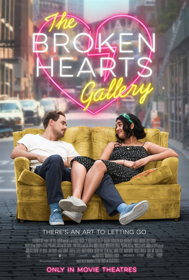 THE BROKEN HEARTS GALLERY poster missing