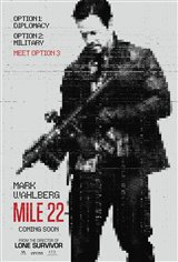 MILE 22 poster missing