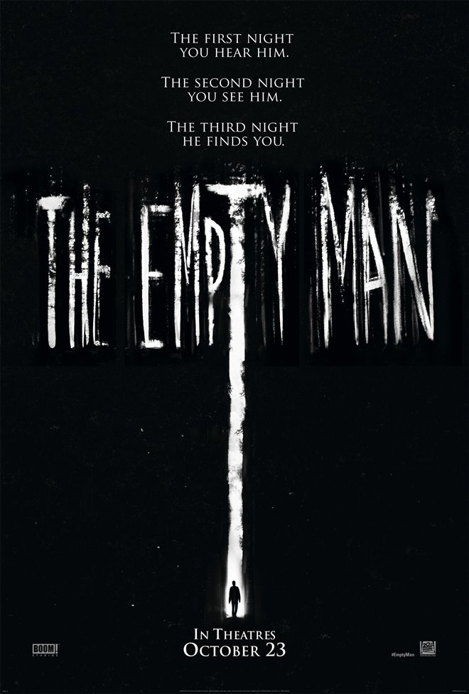 THE EMPTY MAN  poster missing