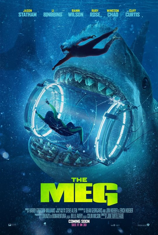 THE MEG poster missing
