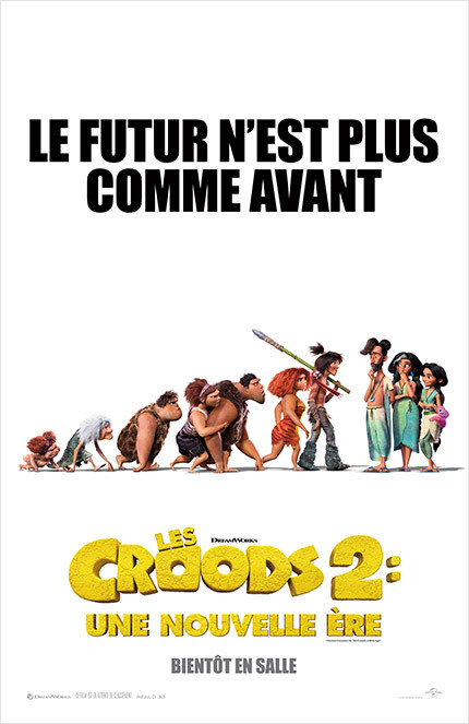 LES CROODS poster missing