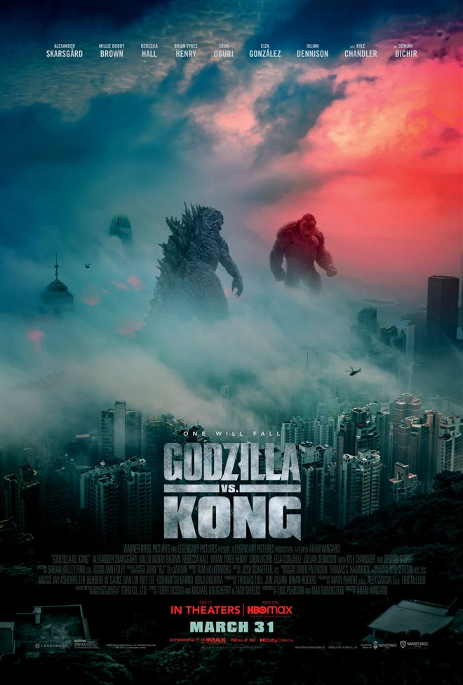 Godzilla vs Kong poster missing