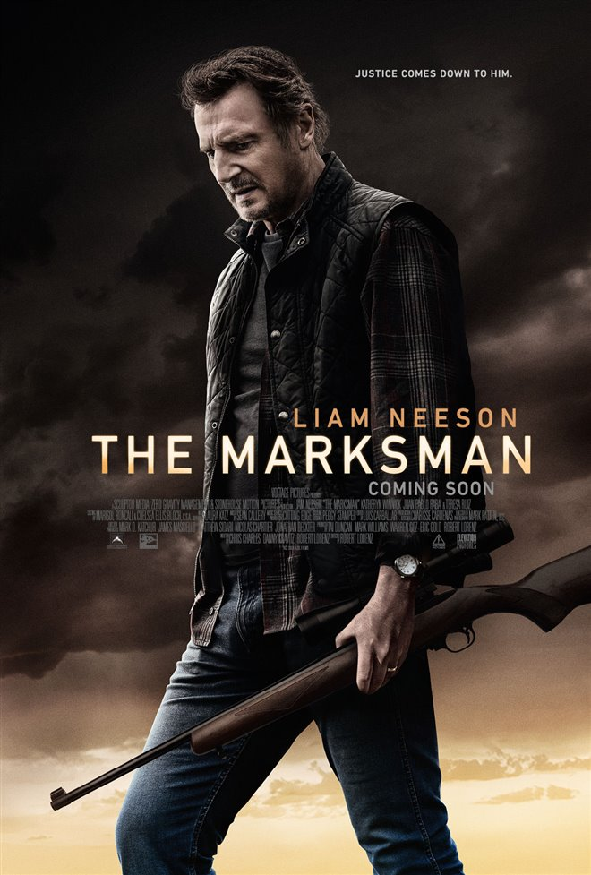 The Marksman poster missing