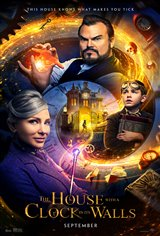 THE HOUSE WITH A CLOCK IN ITS WALLS poster missing