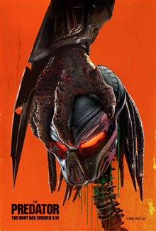 THE PREDATOR poster missing